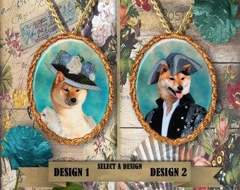 Shiba inu Jewelry Personalized Shiba inu Dog Jewelry Shiba inu Dog Charm Shiba inu Pendant Shiba inu Gift Dog Lover Jewelry Nobility Dogs