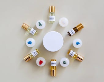 Perfume Oils - Organic Botanic Perfumes - natural perfumery, alcohol free, synthetic free, cruelty free and satisfying scents