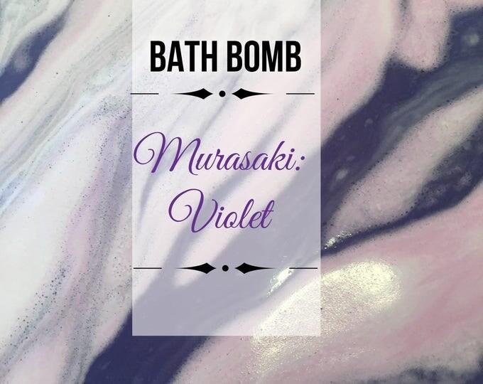 Murasaki/Violet/Purple Bath Bombs
