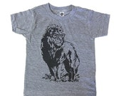 ON SALE Lion Professor Tee Kids Toddler T-Shirt Funny Animal Shirt Gift For Nephew Son Daughter Child Zoo Field Trip Vintage Tshirt 1st Birt