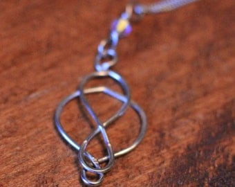 Sterling Silver Celtic Style Pendant