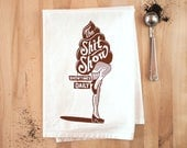 The Shit Show - Dish Towel