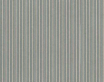 Two 20 x 20  Custom  Pillow Covers for Indoor/Outdoor - Ticking Stripe - Sunbrella Spa Green Taupe