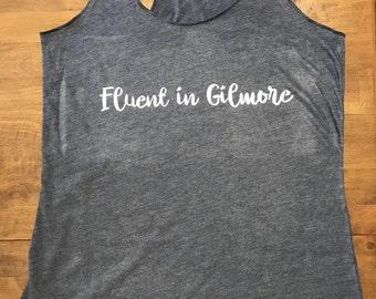 Fluent in Gilmore tank - M - navy
