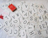 Vintage Lexicon Original Word  Alphabet Letters Card Game 100 Cards