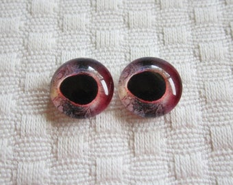 12mm glass fish eyes