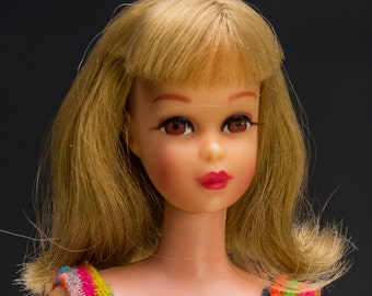 1967 TNT Francie - NM High Color Blonde Flip Twist n' Turn with Swimsuit