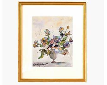 Floral Collage - Original
