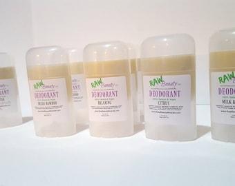 Vegan Deodorant Aluminum Free Natural Body by RAW Beauty LLC