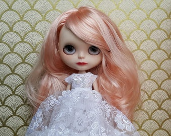 White Lace Blythe Dress, Two Crinolines and Cape Set