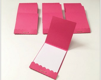 Paper matchbook - Notepad   Set of 10 mini notepads   Promo match book pads, Gift Party Supplies, Stocking Stuffers, Party Favors