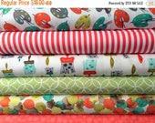 SHOP CLOSING SALE Fat Quarter Fabric bundle for quilt or craft Michael Miller Painting bundle 6 Fat Quarters