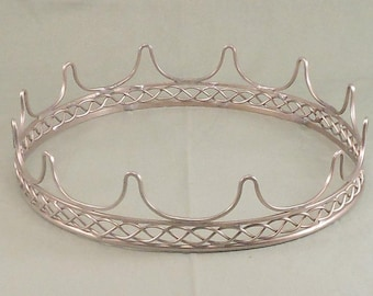 Sterling Silver Crown Circlet