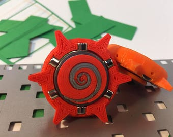 Fidget Spinner    Origami RED Omega Star v2 paper ejector for cutting die MP006 and MP007