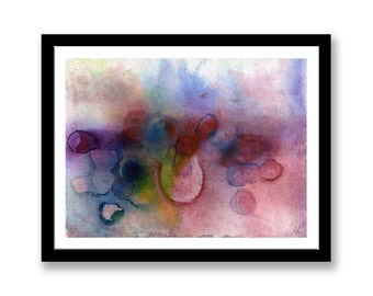 Abstract art   // Original one of a kind art work // Abstract Ink Painting // Wall Art // Office Art // Corporate Art