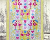 Flamingo Dance - Digital PDF Quilt Pattern SPECIAL PRICE