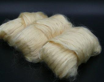 Natural Golden Soybean Vegan Fiber!   Feels similar to silk and Bamboo