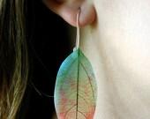 Translucent Leaves Earrings
