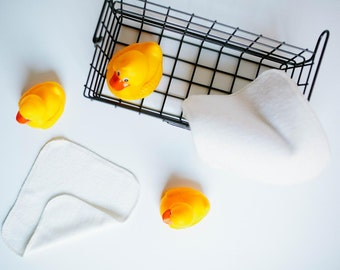 WASHCLOTHS - ORGANIC BAMBOO Washcloth Facial Cloths - Choose your quantity