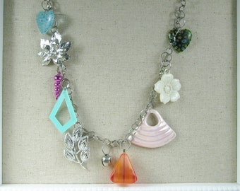 My version of an 80's charm necklace