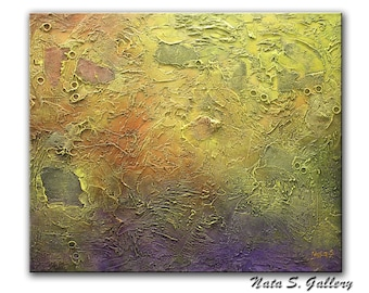 Acrylic Modern Painting on Canvas, Abstract Painting, Lobby Art, Office Painting, Living Room Wall Art, Textured Art by Nata...Ready to Hang