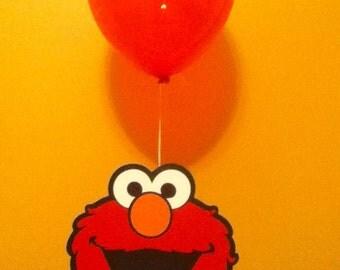 Cute Elmo Balloon Centerpiece