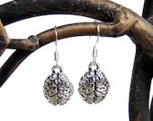 Brain Earrings - Anatomical Brains Earrings in Silver