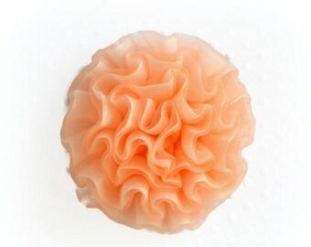 Sale Peach Cabbage Rose. 1 Flower.~  BELLA Collection.