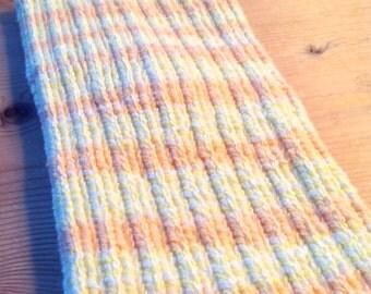 "Medium ""Marmalade"" PICC Line / IV Cover (Armband), orange, yellow, white, pastel neon, happy"