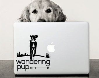 Auto Decal / Adventure Dog / Wandering Pup Decal