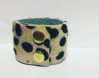 Cheetah Hair Cuff