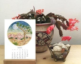 2017 Calendar - Escape - California - Adventure - desktop or wall