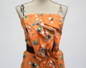 Sharon Couture Ruffled Top