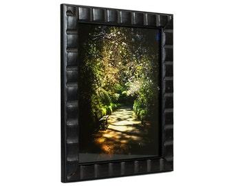 Craig Frames, 4x6 Inch Erie Black Picture Frame, Mosaic, Wood Frame (102540406)