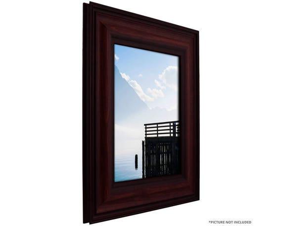 Craig Frames 12x18 Inch Dark Burgundy Picture Frame