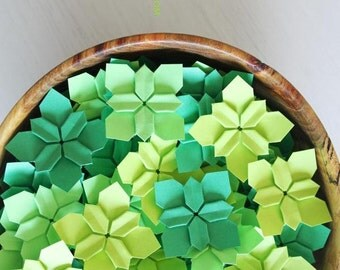100 your choice wedding petals | table decorations | wedding flowers | origami flowers | paper flowers || paper petals
