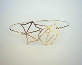 fox bangle, gold fox bracelet, fox cuff, gold bangle, gold cuff, fox jewelry, fox accessory, animal jewelry, nature jewelry