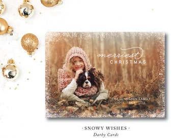 Snowy Wishes Christmas Cards