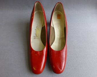Bright Cherry Red Ladies Shoes/Pumps