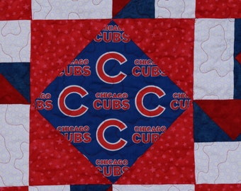 Chicago Cubs Quilt - Made to Order