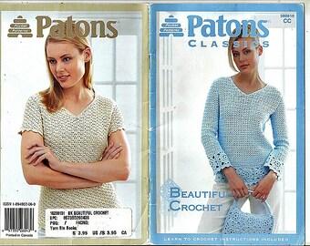 Patons Classics Beautiful Crochet Pattern Booklet Patons Book 500810