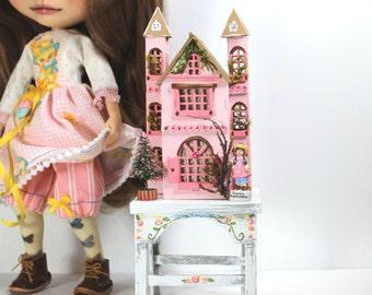 dollhouse dress table Set for Blythe