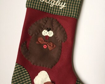 Dog Stocking, Stocking for Dog, Dog Christmas Stocking, Pet Stocking, Animal Stocking