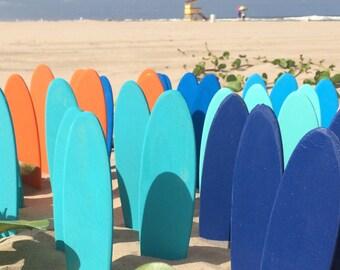Mini Surfboard, Luau Party Decorations, Beach Wedding Favor