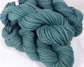 100% NZ Merino - Chunky-  Naturally Dyed Yarn- 50 g. Indigo & Weld