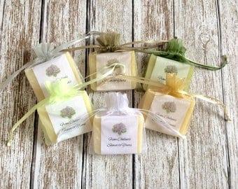 Succulent Bridal Shower Soap Favors