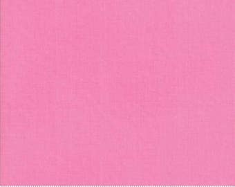 Early Bird by Kate Spain for Moda - Floral - Solid Print - Pink - Fat Quarter - FQ - Cotton Quilt Fabric