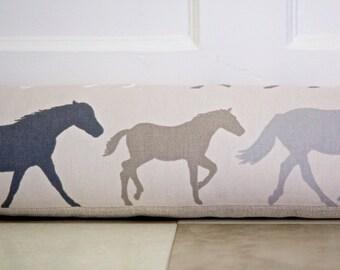 Draught Excluder - Stampede Horses