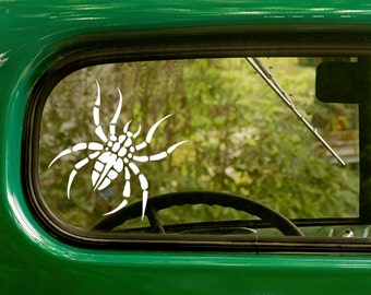 Spider Decal, Spider Sticker, Arachnid, Insect Sticker, Car Decal, Vinyl Sticker, Car Stickers, Laptop Sticker, Vinyl Decal
