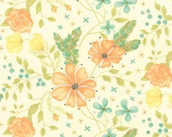 Refresh in Floral Cloud by Sandy Gervais for Moda - One Yard - 17860 16